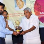 RACE INSTITUTE RECEIVED THE BEST BANK SSC KPSC EXAM COACHING AWARD FROM THE HANDS OF KERALA EX CHIEF MINISTER OOMAN CHANDEY