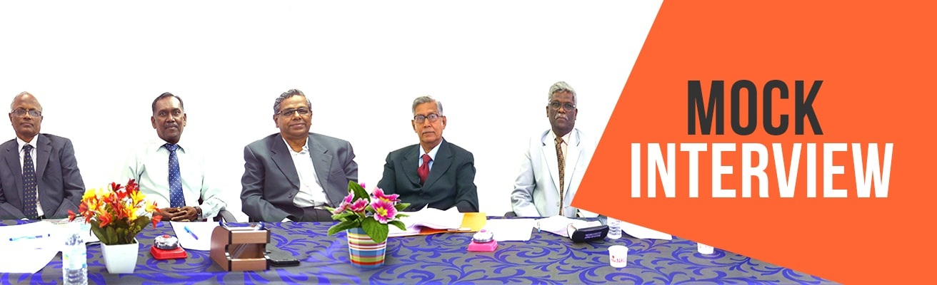 RACE Institute mock interview program by experienced panel members