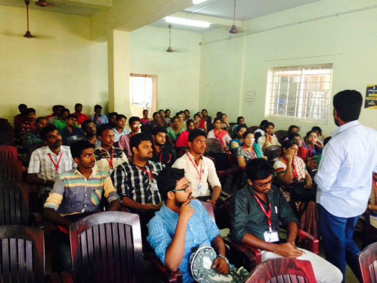 TNPSC Class Inaugurated by Mr. Ramkumar in RACE Madurai Branch