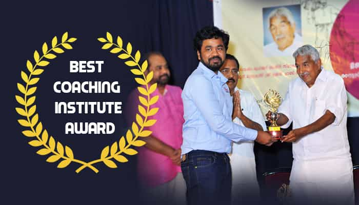 RACE BANK SSC RAILWAY AND GOVT EXAM COACHING INSTITUTE AWARD RECEIVED IN KERALA