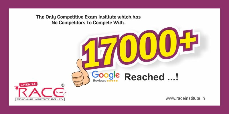 RACE INSTITUTE - BEST INSTITIUTE WITH 17000 POSITIVE GOOGLE REVIEWS BANK EXAM SSC RAILWAY EXAMS